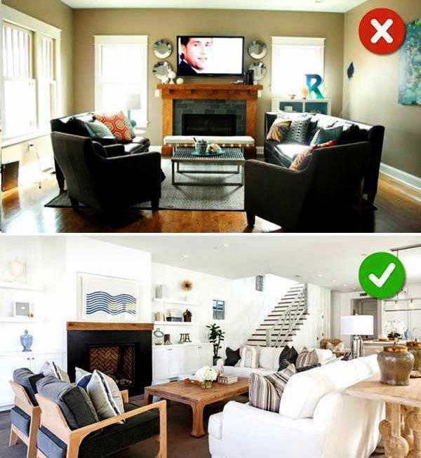 Phòng khách gầm trần thấp cảm giác hiện đại hơn khi chọn các sản phẩm Sofa màu sáng