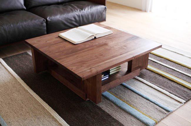 Bàn trà gỗ phải trải qua nhiều công đoạn khắt khe và giá thành khá cao - Nadu Furniture
