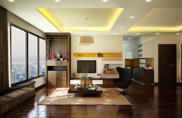 Cách đặt bàn thờ ở phòng khách đẹp và những lưu ý quan trọng - Nadu Furniture