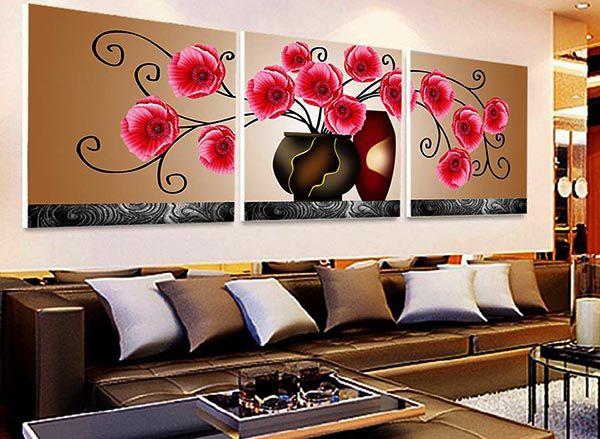 Cách chọn tranh treo phòng khách - trong nhà chính xác nhất - Nadu Furniture