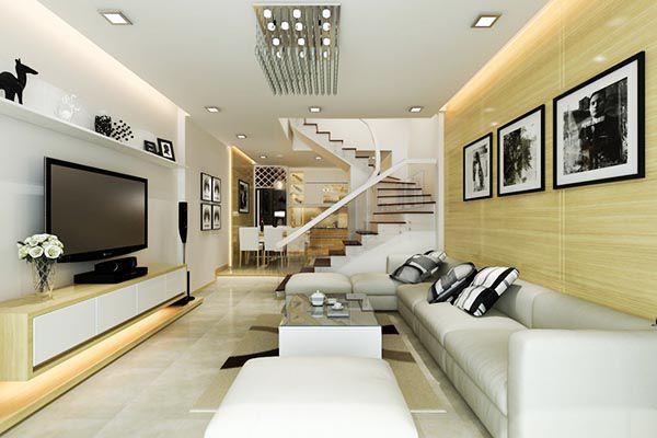 Chỉ nên chọn tối đa 3 màu cho phòng khách theo nguyên tắc 6-3-1 - Nadu Furniture