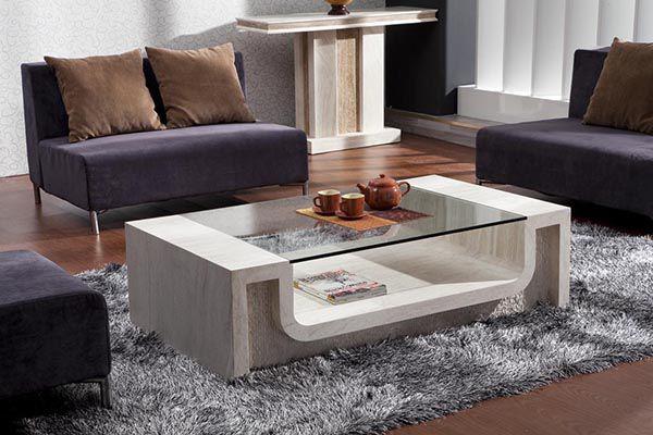Lựa chọn và bố trí Bàn trà phải có hình khối và thấp hơn sofa - Nadu Furniture
