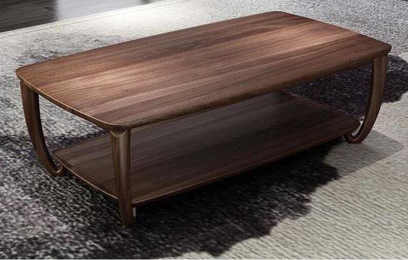 Màu nâu trầm của gỗ óc chó tạo cảm giác ấm áp cho không gian phòng