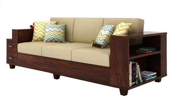 Mẫu ghế Sofa băng gỗ óc chó đa năng cho các căn nhà hẹp - Nadu Furniture