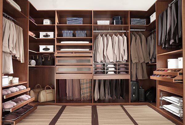 Mẫu thiết kế phòng thay đồ cho các cặp đôi bằng gỗ cao cấp_ Nadu Furniture