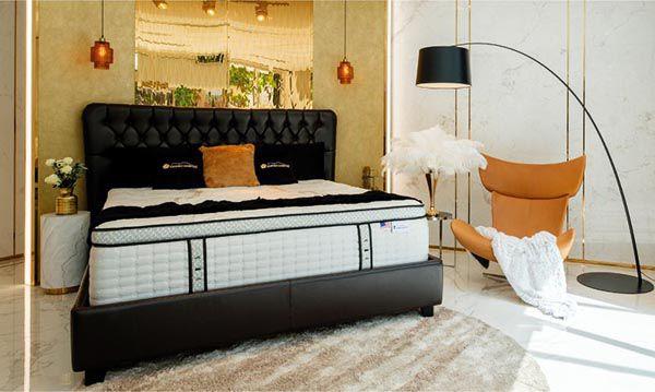 Nệm và ga trải giường cần lựa chọn theo màu sắc và chất liệu với nhu cầu của gia chủ