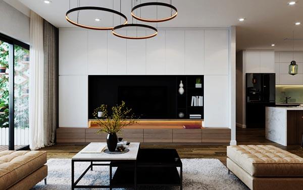 Phong cách thiết kế nội thất hiện đại vừa đơn giản và tiện nghi mà gẫn sang trọng_ Nadu Furniture
