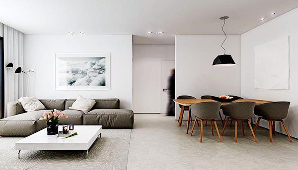 Sắp xếp nội thất khoa học là điểm lưu ý đầu tiên với cách trang trí phòng khách nhỏ đẹp - Nadu Furniture