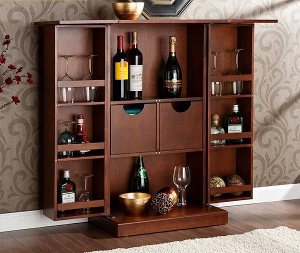 Trang trí tủ rượu đẹp nên theo 1 chủ đề nhất định để hài hòa với căn phòng