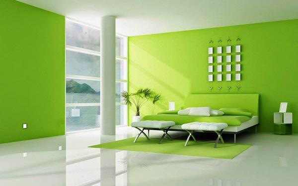Xanh lá cây biểu tượng cho sức sống là màu sơn nhà hợp cho mệnh Mộc - Nadu Furniture