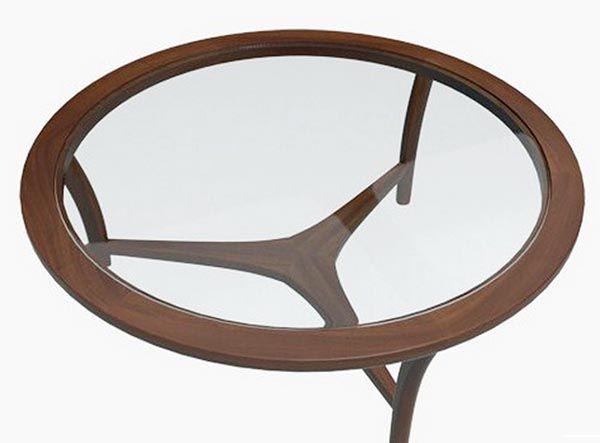 Bàn sofa kính gỗ có cho cao cấp BTG110