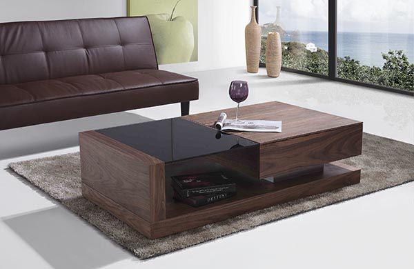 Bàn trà gỗ óc chó đẹp mã BTG104 - Nadu Furniture