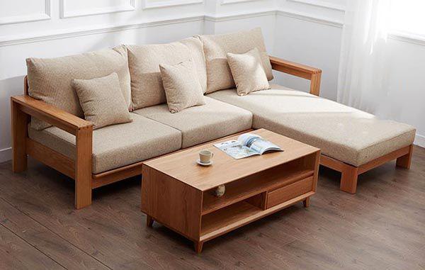 Bạn có thể chọn đệm ghế gỗ phòng khách bằng nỉ - da- vải tùy theo nhu cầu sử dụng