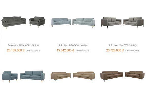 Bạn nên tham khảo giá sofa bao nhiêu xem có hợp với túi tiền của mình không nhé