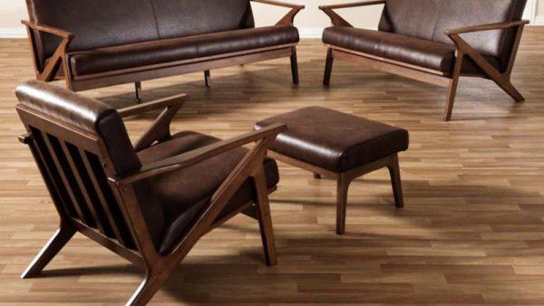 Bộ bàn ghế phòng khách gỗ óc cho mã BGK 101 -1
