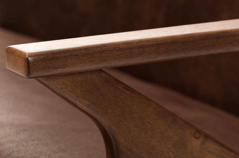 Bộ bàn ghế phòng khách gỗ óc chó mã BGK 101 -2