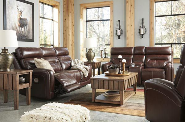 Bộ sofa da cho phòng khách rộng đẳng cấp và sang trọng