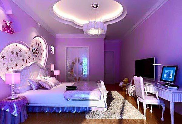 Các màu sơn phòng ngủ đẹp nhất 2019_Màu oải hương