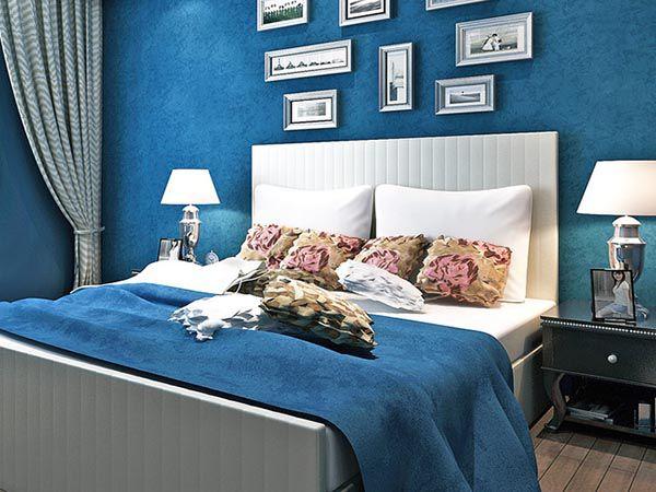 Các màu sơn phòng ngủ đẹp nhất 2019_Màu sapphire - Nadu Furniture