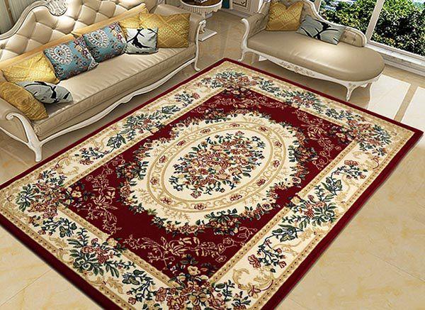 Các mẹo trang trí phòng khách đẹp với các món đồ trang trí đơn giản - Thảm trải sàn