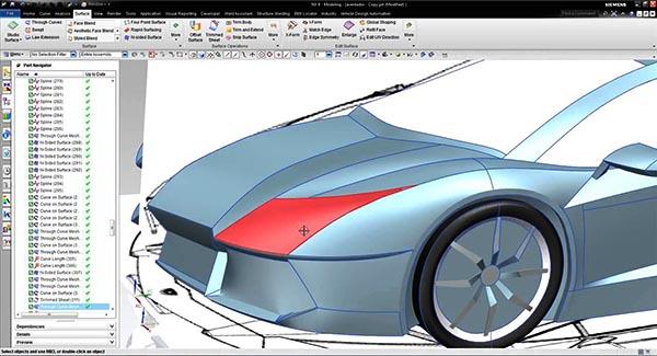 CAD được sử dụng để xây dựng nguyên mẫu và thiết kế ô tô chuyên nghiệp