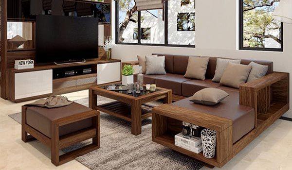 Chọn chất liệu bọc sofa bằng da nỉ hay vải phù hợp