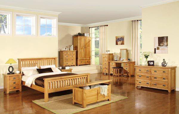 Gỗ sồi được dùng để làm hầu hết các sản phẩm nội thất gia đình