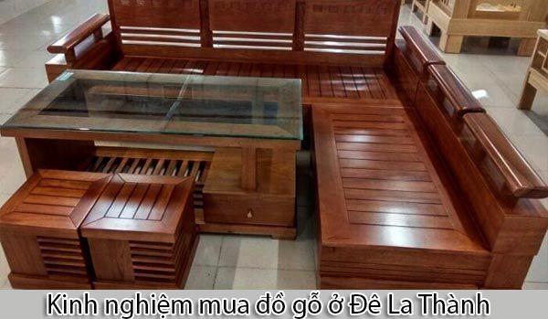 Kinh nghiệm mua đồ gỗ ở Đê La Thành mà bạn nên biết - Nadu Furniture