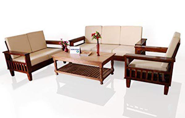 Mẫu bàn ghế sofa gỗ tự nhiên mã SFG 1024