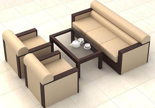 Mẫu bàn ghế sofa mini đơn giản mà tiện dụng và vẫn nổi bật - Nadu Furniture