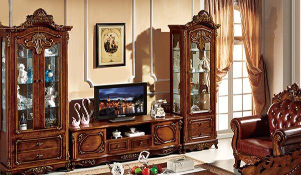 Mẫu gỗ tủ gỗ hương phòng khách đẹp nhất cho năm 2020