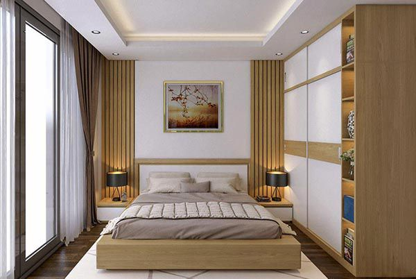 Mẫu nội thất gỗ công nghiệp cao cấp phòng ngủ