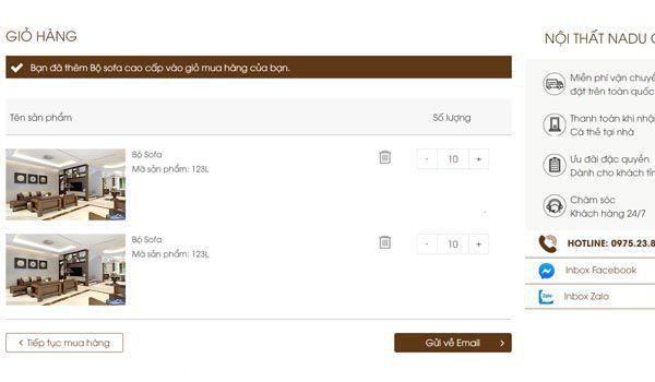 Nếu bạn mua hàng Online an toàn bảo mật thông tin là vấn đề hết sức quan trọng - Nadu Furniture