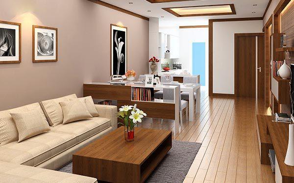 Nội thất gỗ công nghiệp cao cấp phòng khách đẹp