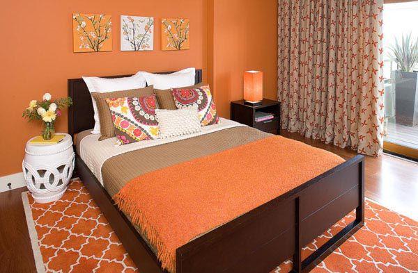 Phòng ngủ màu cam đem lại cảm giác ấm cúng cho phòng ngủ của bạn - Nadu Furniture