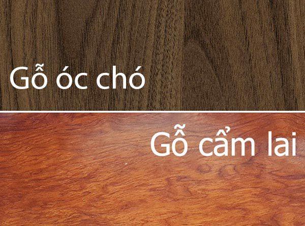 So sánh gỗ Cẩm Lai và Gỗ óc chó - Nadu Furniture