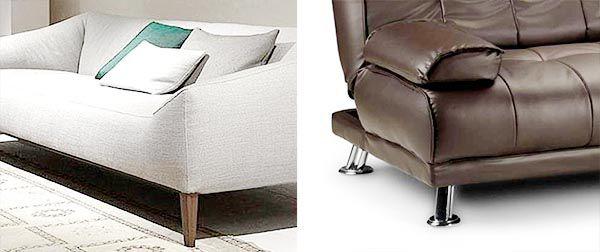 Sofa chân gỗ hay chân Inox mỗi loại đều có những ưu nhược điểm khác nhau