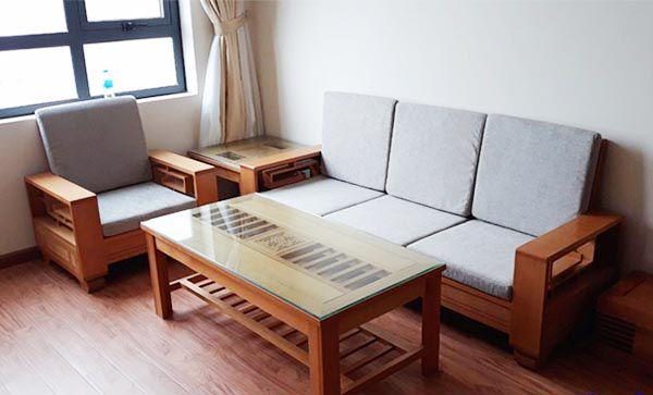 Sofa gỗ sồi Nga màu sắc tươi sáng và mẫu mã đa dạng - Nadu Furniture