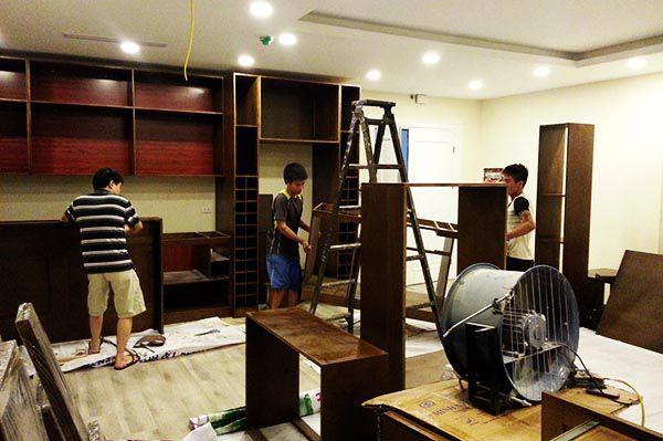 Tìm đơn vị thi công hoàn thiện nội thất uy tín Hà Nội - Tp HCM