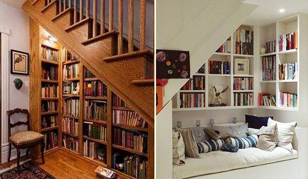Tủ âm tường là lựa chọn hoàn hảo cho ý tưởng tận dụng gầm cầu thang - Nadu Furniture