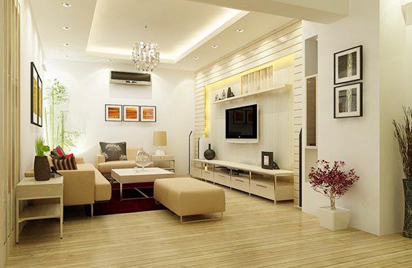 Thiết kế trang trí phòng khách theo phong cách hiện đại - Nadu Furniture