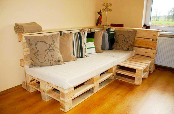 Trào lưu sử dụng Sofa gỗ Pallet đẹp bền và rẻ