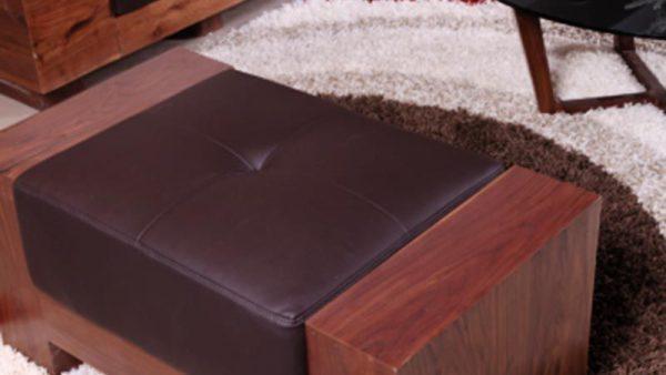 Ghế Sofa đơn gỗ óc chó mã SFD 102 - Nadu Furniture