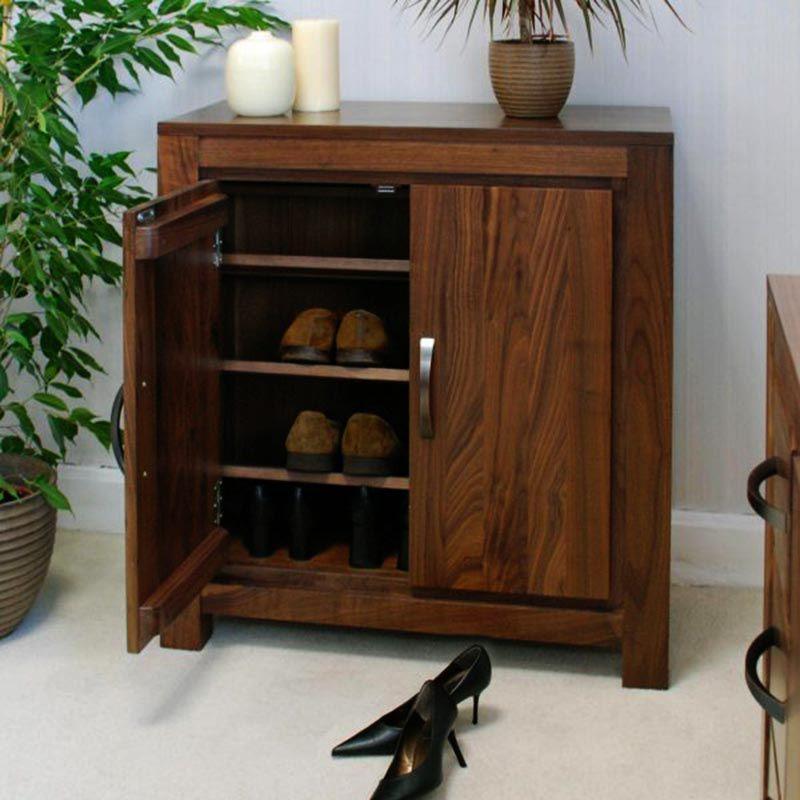 Mẫu tủ giày gỗ óc chó mã TGG 101