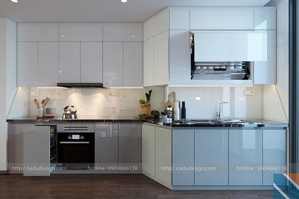 Nội thất gia đình phòng bếp đẹp 2