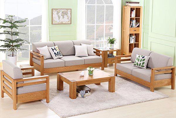 Sofa gỗ với nệm tách rời đang là xu hướng cho năm 2020