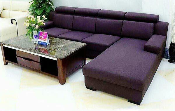 Sofa nệm thường có giá rẻ hơn bàn ghế sofa gỗ