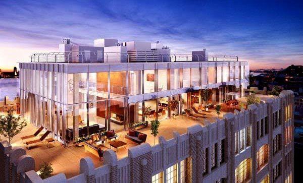 Thiết kế sang trọng và lộng lẫy của 1 căn hộ Penthouse