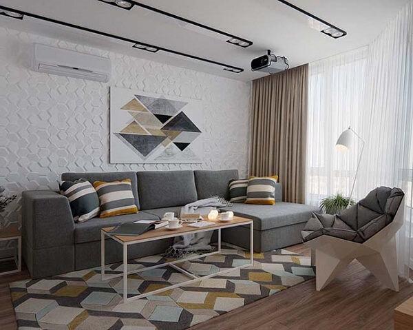 Đồ họa hình học trong thiết kế nội thất