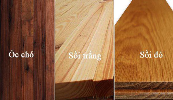 So sánh điểm giống và khác nhau của gỗ óc chó và gỗ sồi nhập khẩu